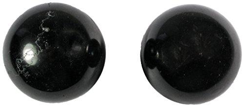 Meditation Qi-Gong-Kugeln | Yin Yang | Design Stein schwarz | verschiedene Durchmesser (Ø 50 mm)