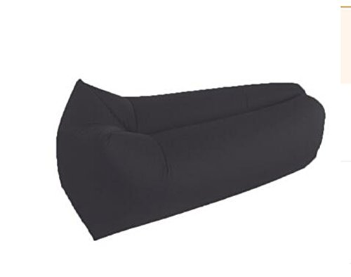 L&ZR Aufblasbare Lounger Air Sofa Hängematte-Portable Aufblasbare Couch Air Lounger Mit Tragbaren Paket Air Chair Für Camping Reisen Picni Pool Wandern - Bean Bag Tür