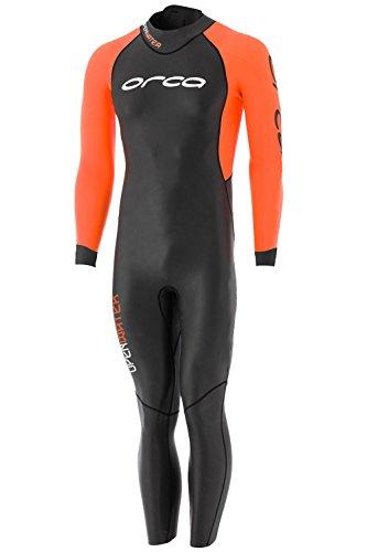 ORCA Core Openwater - Vestuário de triathlon para homem - laranja / preto Tamanho 7 2017
