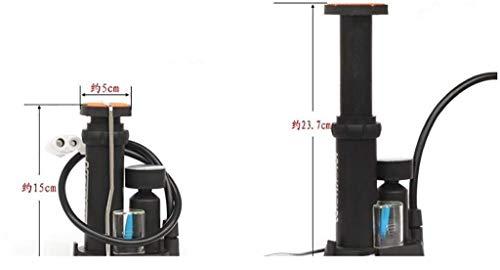 V/élo de Montagne Portable Mini Pompe /à Double Course Design pour French and American Gas Mouth Pompe /à v/élo Noir