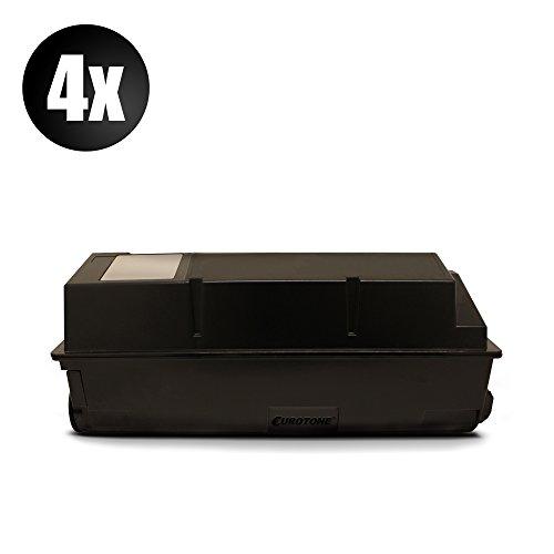 Preisvergleich Produktbild 4x Rebuilt Toner für Kyocera TK 360 für FS-4020 / DN FS4020 TK360