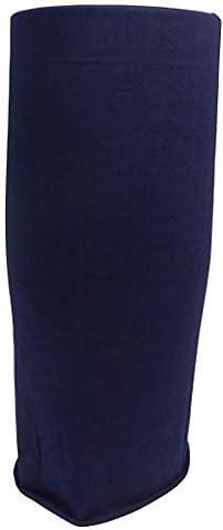 Unisex Multifunctional Bandana/ Headwear Piece/Scarf - Microfiber Polyester Sweat Absorbent - Breathable - Soft Durable Polyester Cotton - Seamless Sports Tube - Neckerchief - Headband - Wristband - Balaclava - Neck Gaiter - Ponytail Holder - Beanie Cap - Foulard - Alice Band - Blind Chicken - Mask - (Midnight Blue)