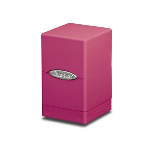 Ultra Pro 84178 - Deck Box - Satin Tower, Hellrosa (Pink Deck Magic Box)
