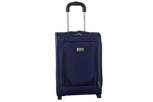 Maleta semirrígida PIERRE CARDIN azul mini equipaje de mano ryanair S263