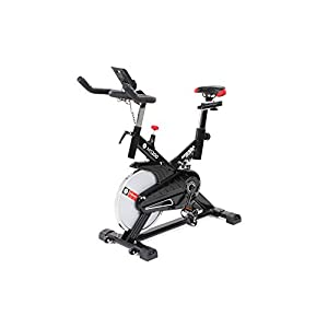 Miweba Sports Indoor Cycling Bike Ergometer Heimtrainer MS200-13 Kg Schwungmasse – Smartphonehalterung – Pulsmessung
