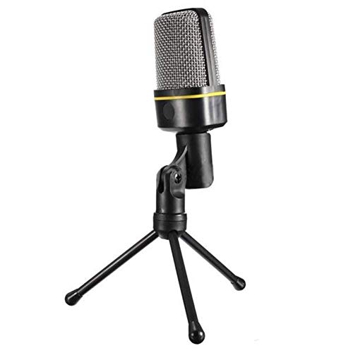 Mikrofon for Computer, 3.5mm Schlitz-Hauptstudio-Nierencharakteristik-Kondensatormikrofon Mit Abnehmbarem Stativ-Standplatz for PC/Laptop/Mac Lg Home-adapter