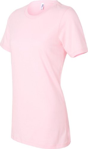 Werden 4.2oz Jersey Rundhalsausschnitt Pink