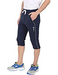 27b428a3424 VERSATYL- Stretchable 3 4 Cotton Track Pant for Men