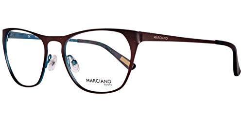 Guess Damen Brille GM024053D96 Brillengestelle, Braun, 54