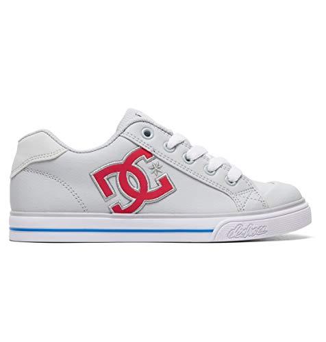 DC Shoes Chelsea - Shoes for Girls - Schuhe - Mädchen 8-16 - EU 39 - Grau (Schuhe Dc Mädchen)