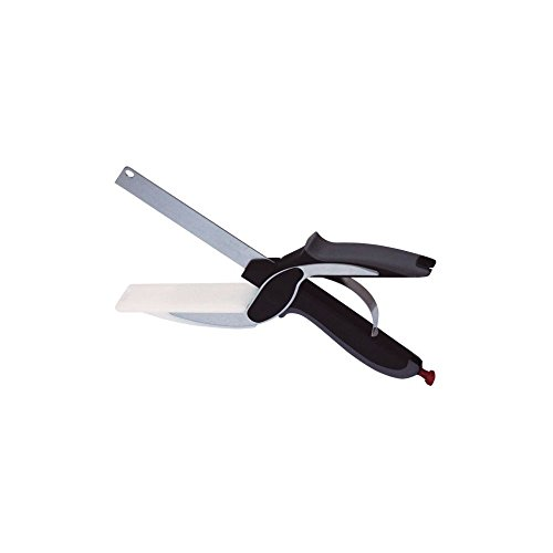 COUPE EXPRESS SLICE41 TELESHOPPING, Acier Inoxydable, Noir, 25 x 7 x 2 cm