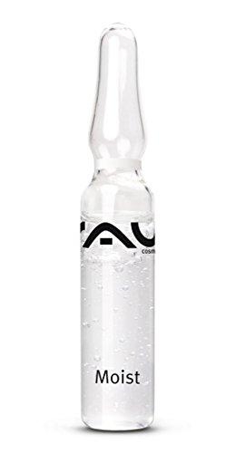 Anti-Aging, Effektiver Feuchtigkeitsbooster mit Hyaluronsäure für glatte und reine Haut, Allantoin, Sorbitol & Urea - RAU Moist Ampullen...