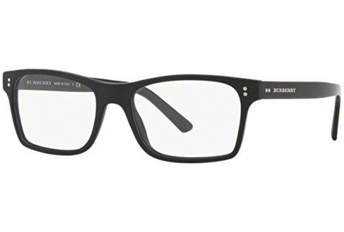 BURBERRY Eyeglasses BE 2222 3594 Matte Black 53MM