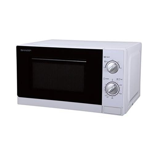 31JSWvF2ioL. SS500  - Sharp R20DWM Solo Microwave, 800 W, 20 liters, White