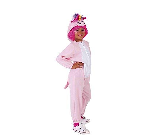 Rubies - Disfraz de unicornio para niño o niña, rosa, 5-7años (Rubies S8428)