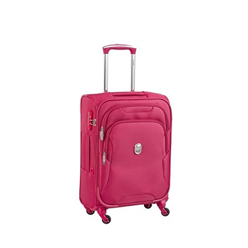 visa-delsey-valise-souple-4-roues-78cm-siding-rouge