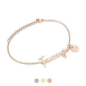 AVIANA Trauzeugin Armband mit Namen Gravur | Personalisierte Geschenke | Trauzeugin fragen | Personalisierter Schmuck…