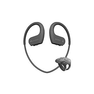 Sony NW-WS625B Lecteur MP3 16 Go avec Casque Sport sans fil Bluetooth - Noir