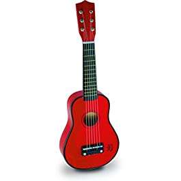 Vilac – 8306 Strumento Musicale, Chitarra, Colore: Rosso