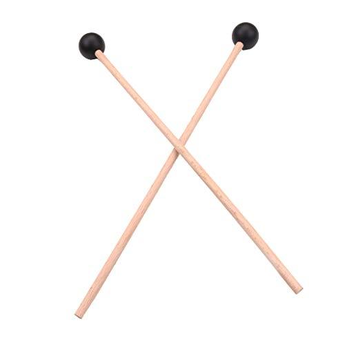 gazechimp 1 Paio Marimba Mallet Vibrafono Bacchette Glockenspiel Bacchette Accessori Per Strumenti A Percussione