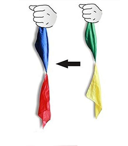 Inception pro infinite fazzoletti magici- cambia colore - trucchi di magia - giochi di prestigio - fazzoletto magico