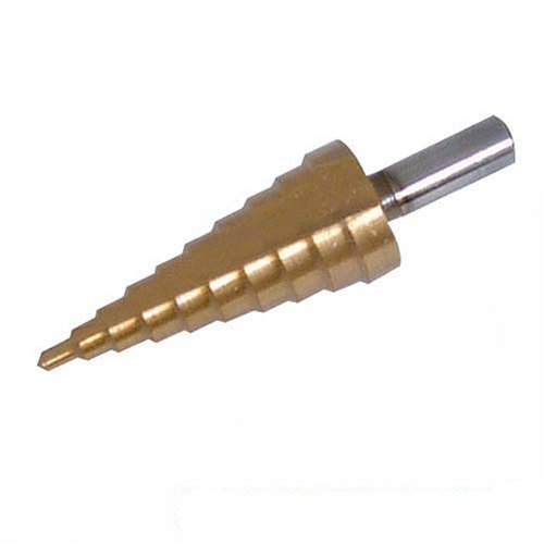 Preisvergleich Produktbild Silverline 656611 Titanbeschichteter HSS-Stufenbohrer 20–36 mm
