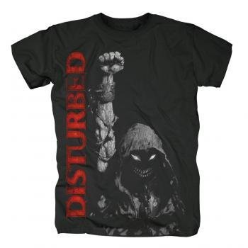 Disturbed - Up Your Fist Uomo T-Shirt In Nero, Size: XX-Large, Color: Nero