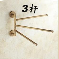 BBSLT Antico in stile Europeo a 360 gradi di rotazione di rame asciugamano attività bar , antiche attività tre