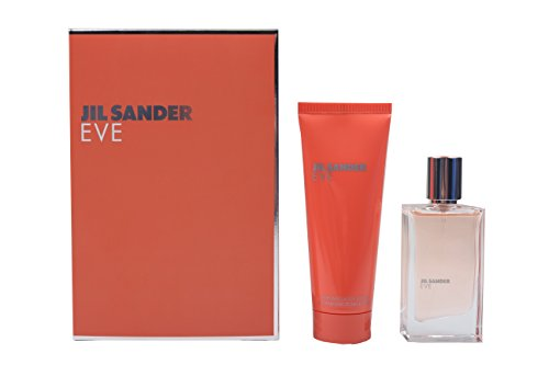 Jil Sander Eve Geschenkset femme / woman, Eau de Toilette, Vaporisateur / Spray 30 ml, Bodylotion 75 ml, 1er Pack (1 x 105 ml)