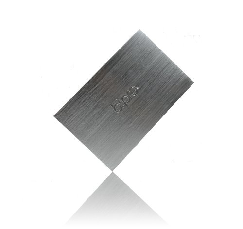 Bipra 500GB 6,3cm USB 2.0tragbare externe Festplatte-Silber