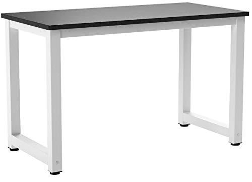 Merax Schreibtisch PC Tisch Computertisch Büro Tisch Bürotisch Arbeitstisch Officetisch PC-Tisch Esstisch für Zuhause Büro...