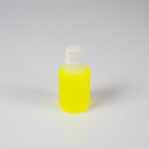 UV-aktive Stempelfarbe, transparent, gelb, 50ml - UV-Farbe - showking
