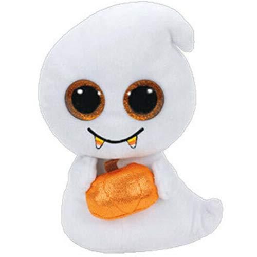 MYETO Plüschtier Kawaii Halloween Ghost Puppe Weiche Plüsch Spielzeug Große Augen, Baby Schlafen Geburtstag Geschenk Mädchen Kind Dekoration Beschwichtigung Puppe 16