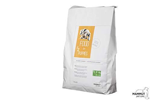 Mammut Pet Care 2kg - Made in Italy - Certificato - Crocchette per Cuccioli Cane di Taglia Media e Taglia Grande, Completo, 100% Naturale di Alta Qualità per Accrescimento, Sviluppo e Addestramento