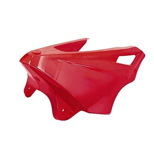 H&Living Fit für Honda MSX125 MSX125SF Motor-Schutz-Schutz-Abdeckung Unter Gugel Gesenkte Low Wanten Verkleidungs   Bugspoiler (rot) (Honda Fit Motor)
