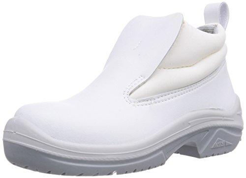 MTS Sicherheitsschuhe M-White Andros S2 15210, Scarpe Antinfortunistiche Unisex – Adulto Bianco (Bianco)