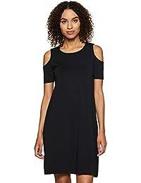 Amazon Brand - Symbol Cotton Shift Dress
