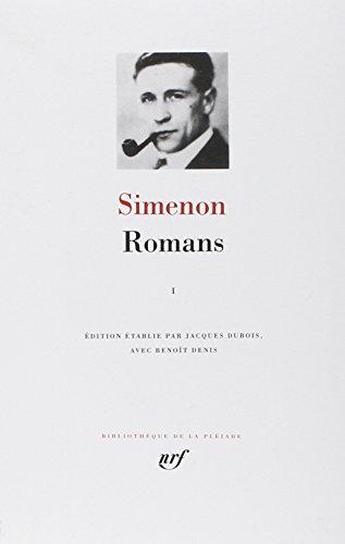 Simenon : Romans, tome 1 par Georges Simenon