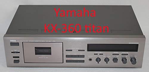 Yamaha Kassetten Deck kx-360Tape Player - Cassette Tape Deck