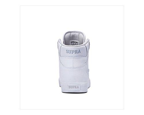 Supra Kids Vaider, Sneakers Hautes mixte enfant White / White