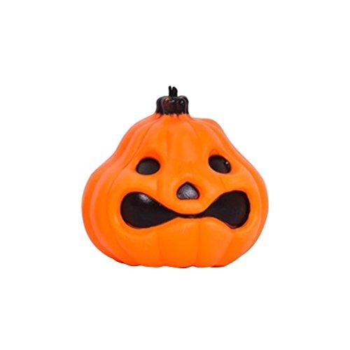 BESTOYARD Halloween Kürbis Laterne Tragbare Halloween Ghost Licht Prop für Kinder Halloween Party Supplies