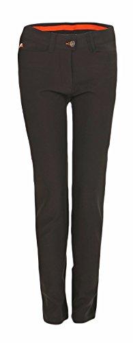 MAXX Golf Hose Mädchen mit Verstellbaren Bund (Schwarz, 164)