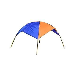 Asenart Portable Faltbare Baldachin für aufblasbare Boot (4 Personen) und Camping Sun Shelter Angeln Zelt Sun Shade Baldachin Markise (Kein Boot inbegriffen)