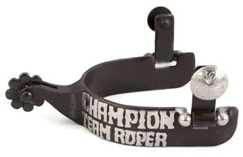 Metalab Santa Fe Team Roping Trophy Spur by Metalab