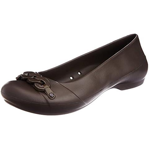crocs Gianna Link Flat W 14574 Damen Ballerinas