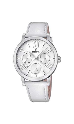 Festina Womens Analogue Quartz Watch with Leather Strap F20415/1
