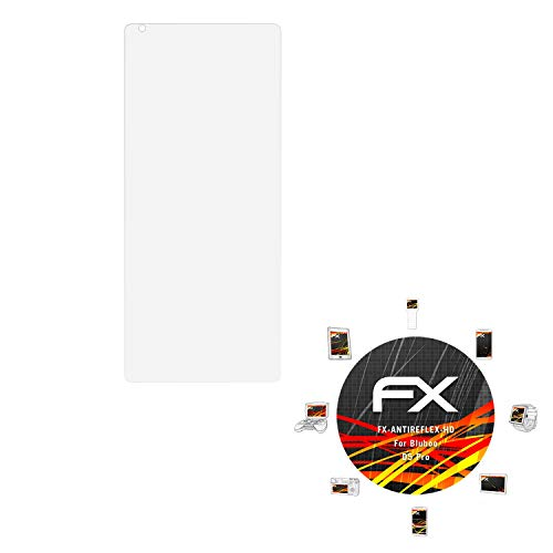 atFolix Schutzfolie kompatibel mit Bluboo D5 Pro Bildschirmschutzfolie, HD-Entspiegelung FX Folie (3X)