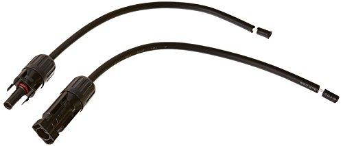 Descripción renogy Kit de adaptador es un conjunto de dos cables fabricado para conectar su renogy Panel a su controlador de carga. especializados con conectores MC4en un extremo para panel de conexión sin esfuerzo a su alambre de expuestas y en el...