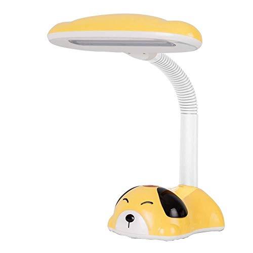 FISH Tischlampe Touch Control Leselampe Cartoon Design Kinder Tischlampe mit Sparschwein Augenschutz Leselampe für Studienarbeiten -