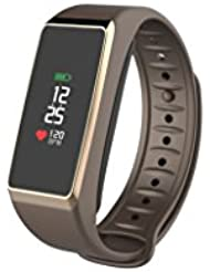 MyKronoz KRZEFIT3-Brown/Gold Activity Tracker, Brown/Gold, UNIVERSAL